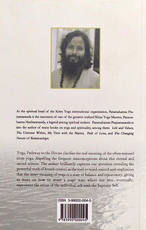 Yoga, Pathway to the Divine