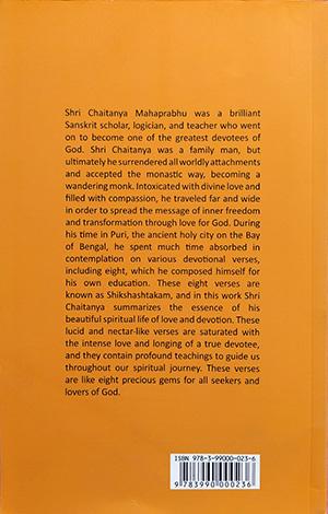 Divine Instructions, Shikshashtakam of Sri Chaitanya Mahaprabhu