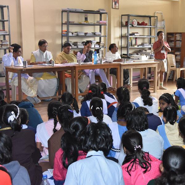 Geeta Jnana Pariksha (Test On Bhagavad Geeta)
