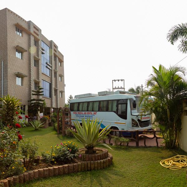 Hariharananda Charitable Health Centre Ambulance
