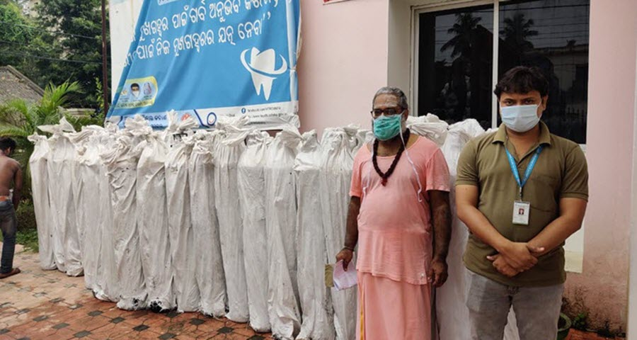 Oxygen Cylinders Donation At Cuttack