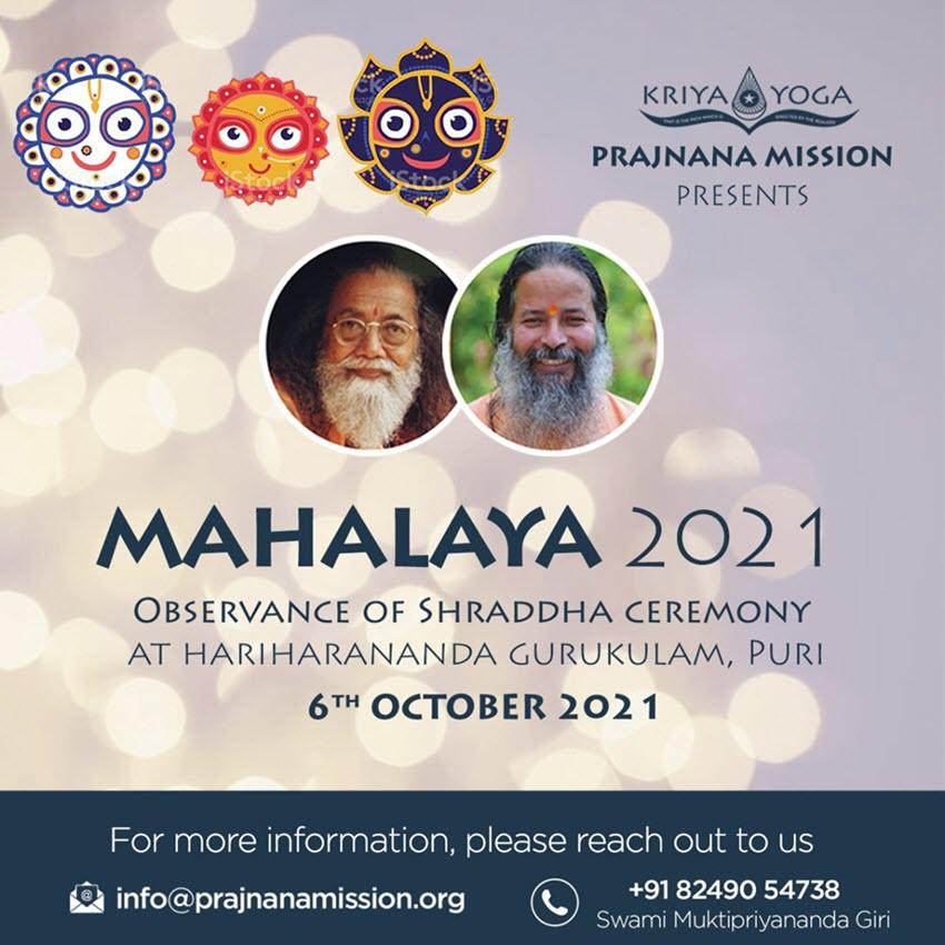 Mahalaya 2021 Celebration At Prajnana Mission